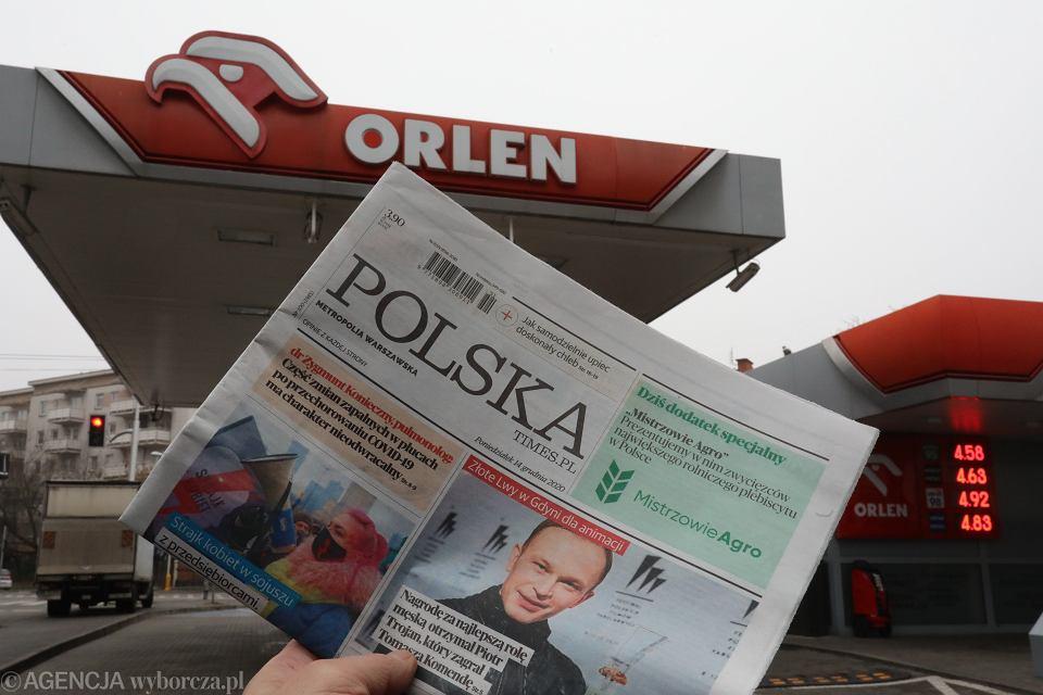 Orlen przejmuje Polska Press, wydawcę m.in. dziennika Polska Times.PL