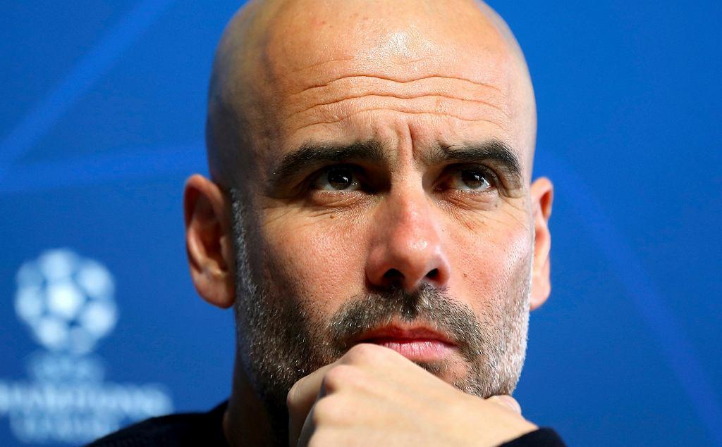 Pep Guardiola tonuje nastroje przed meczem z Schalke