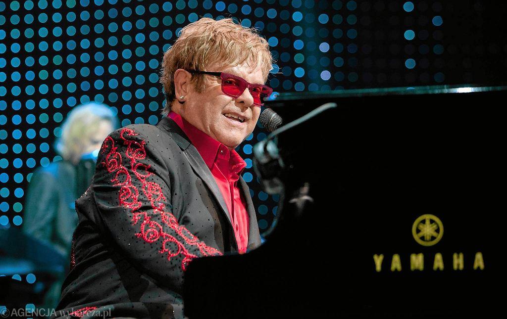 Elton John w Atlas Arenie, 2012 / Fot. Małgorzata Kujawka / Agencja Gazeta