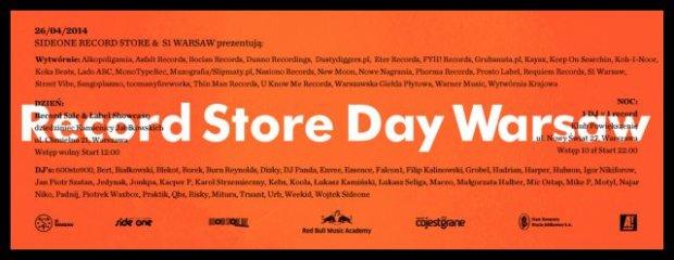 Record Store Day w Warszawie - 26.04.2014