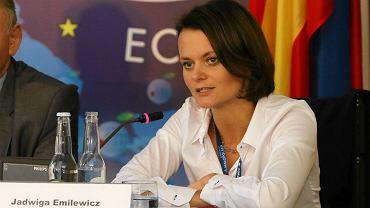 Jadwiga Emilewicz podczas Forum Ekonomicznego w Krynicy