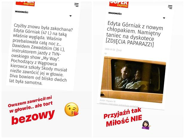 Edyta Górniak komentuje zdjęcia