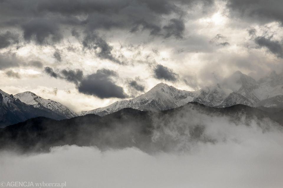 Śnieg w Tatrach (zdjęcie ilustracyjne)
