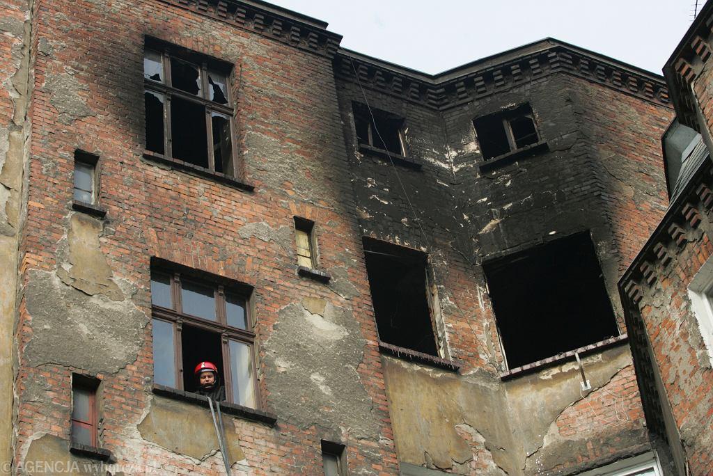 Pożar w 2007 roku