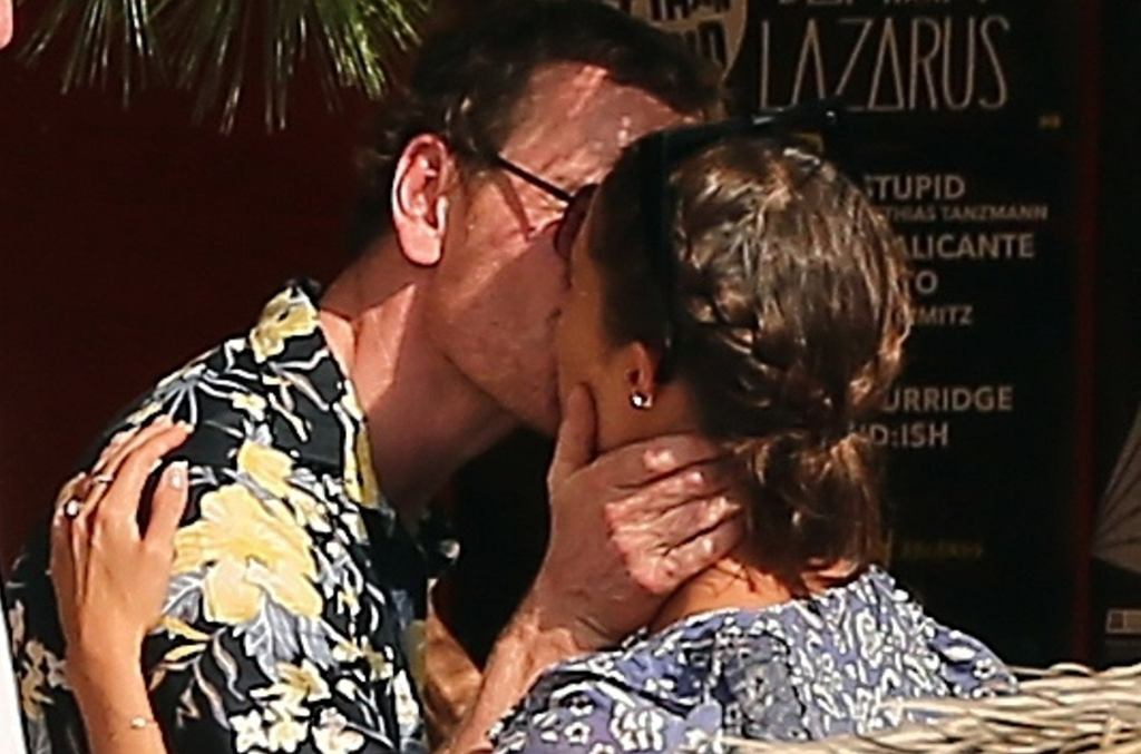 Alicia Vikander i Michael Fassbender z obrączkami