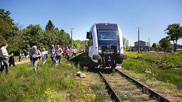 Przejazd pociągiem na trasie Gdańsk Kokoszki - Kartuzy