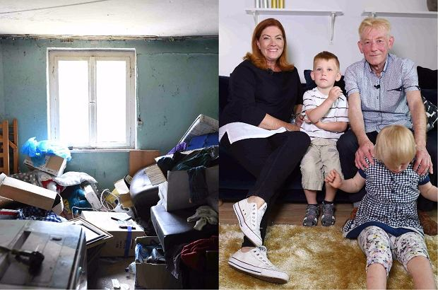 Zdjęcie numer 0 w galerii - Mieszkał w ruderze i samotnie wychowywał 2 dzieci. Wkroczyła Dowbor z ekipą i zrobiła remont. Teraz to perełka!