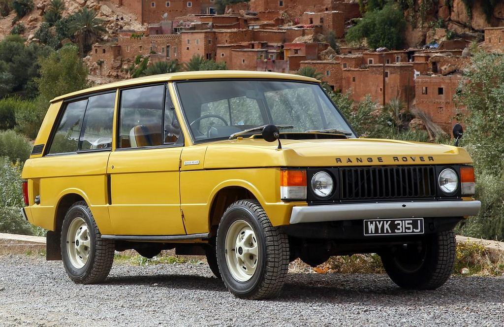 Land Rover Range Rover z 1970