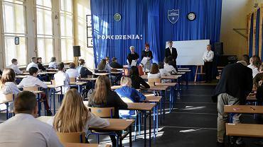 Egzamin ósmoklasisty. SP 54 w Szczecinie