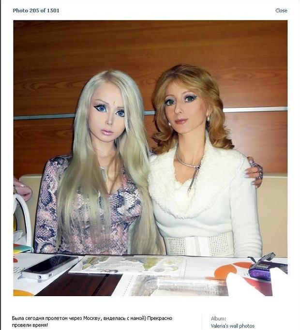 Valeria Lukyanowa, matka