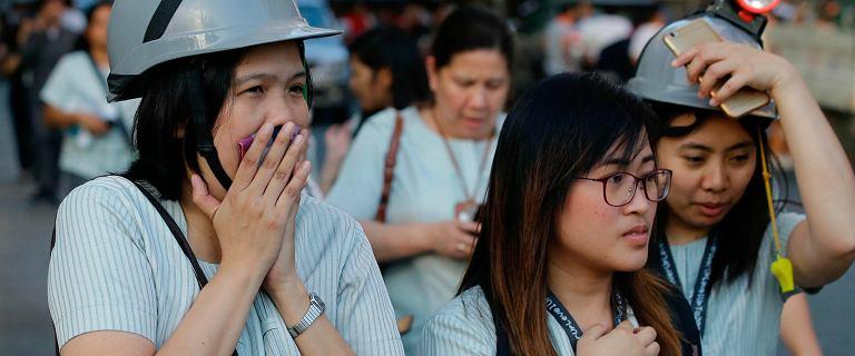 Trzęsienie ziemi na FIlipinach. Są ofiary śmiertelne