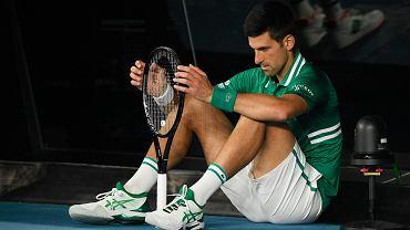 Novak Djoković znów pokazał ciemną stronę.