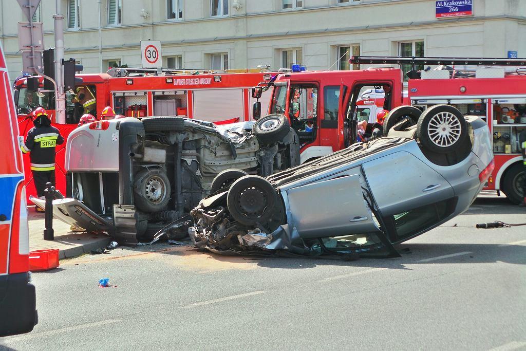 Wypadek przy al. Krakowskiej