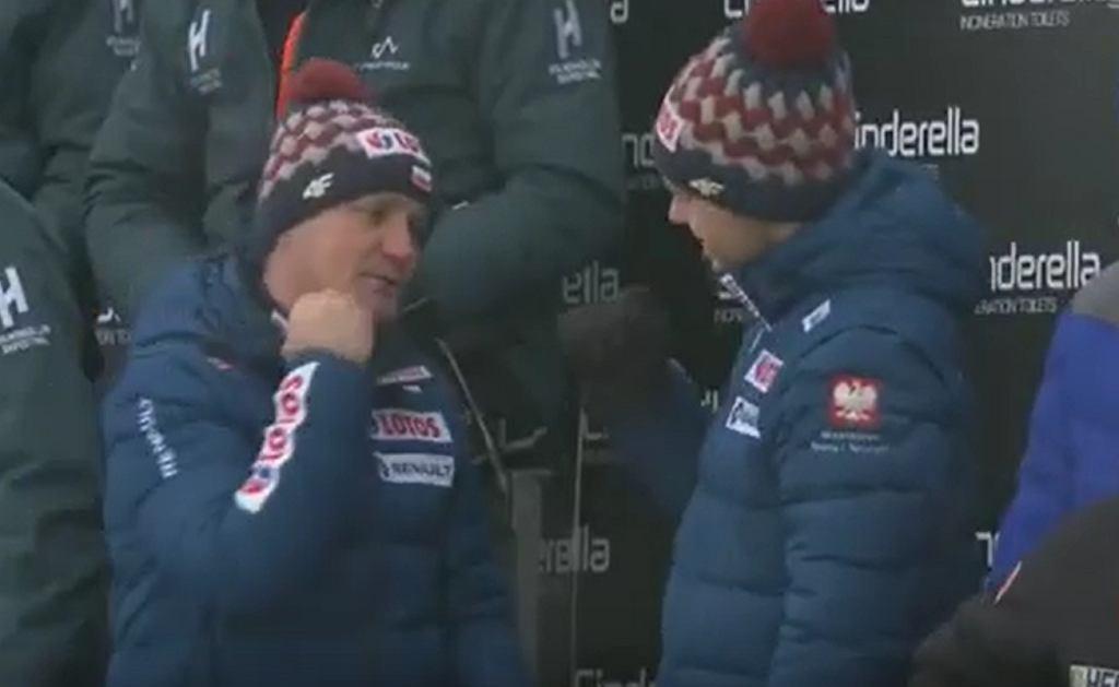 Grzegorz Sobczyk i Michal Doleżal