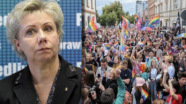 Posłanka PiS doprowadzić do zakazu Marszu Równości