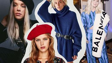 Modne dodatki: beret, czapka bretonka, pasek, szal
