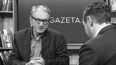 Marek Lehnert w Porannej Rozmowie Gazeta.pl
