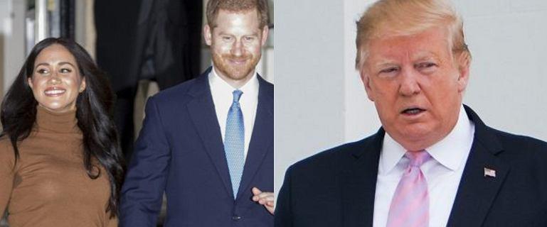 Meghan Markle i książę Harry odpowiedzieli na słowa Donalda Trumpa