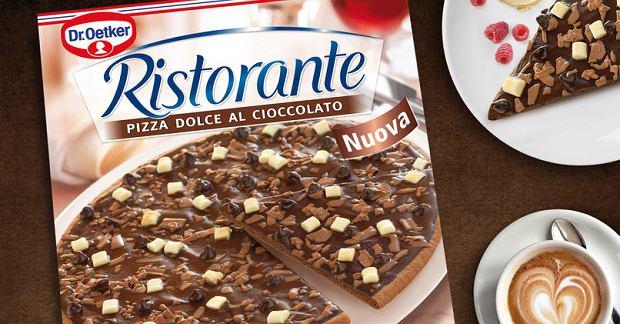 Pizza z czekoladą