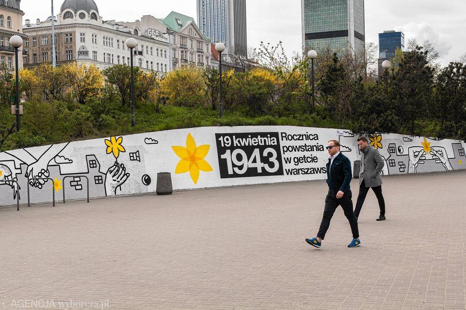Zdjęcie numer 20 w galerii - Rocznica powstania w getcie warszawskim. Żonkil oznacza pamięć
