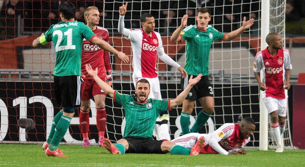 Ajax - Legia 1:0