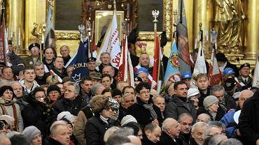 Kościół św. Krzyża, pogrzeb Jadwigi Kaczyńskiej