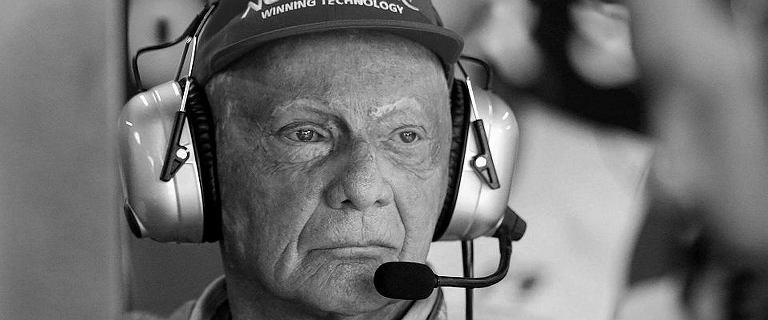 Niki Lauda nie żyje. Historia legendy Formuły 1
