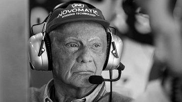 Niki Lauda nie żyje. Legendarny kierowca miał 70 lat