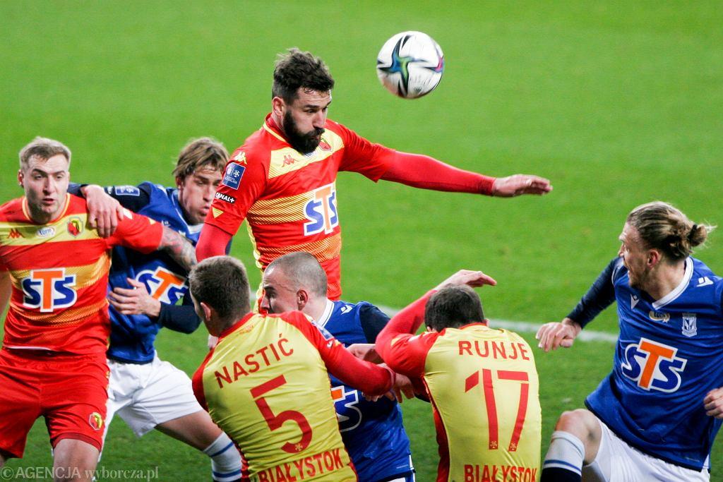 Jagiellonia Białystok pokonała w Poznaniu Lecha 3:2.