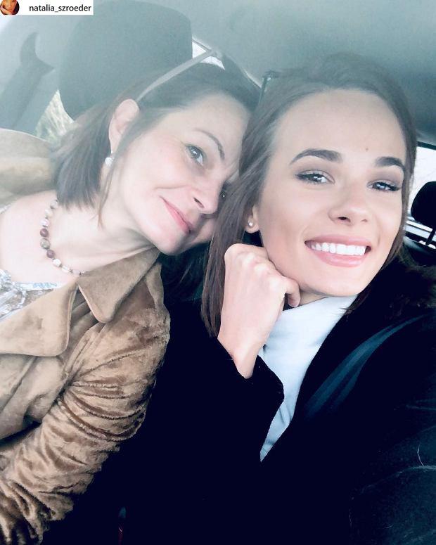 Natalia Szroeder z mamą