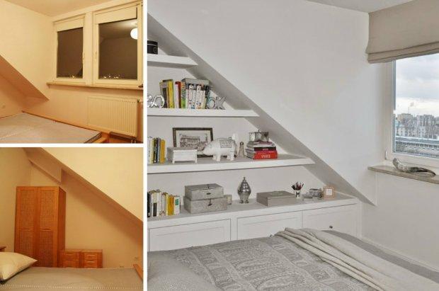 Sypialnia Ze Skosem Budowa Projektowanie I Remont Domu