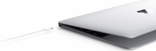 USB-C w nowym MacBooku