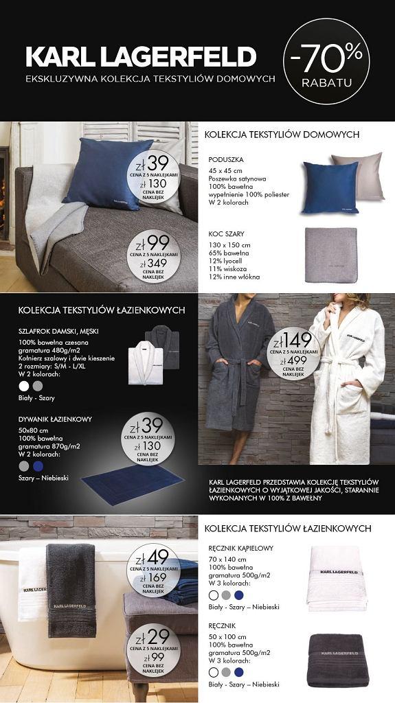 Karld Lagerfeld dla Carrefour