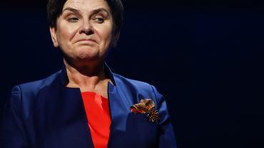 Była premier, obecnie europosłanka PiS, Beata Szydło