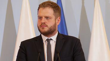 Wiceminister zdrowia Janusz Cieszyński
