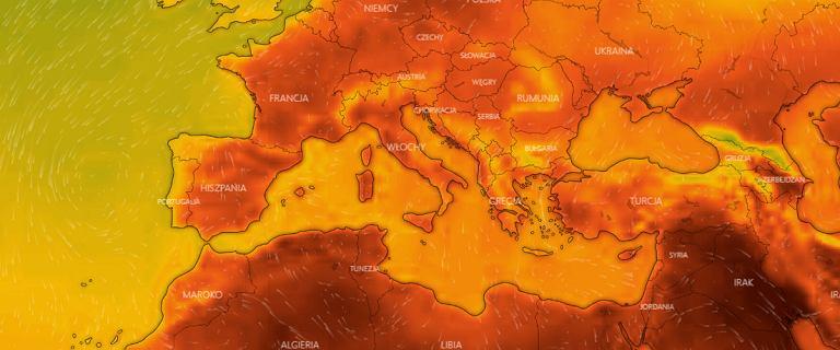 40-stopniowy pas upałów znad Afryki nad Europą. Dosięgnie również Polski