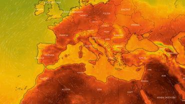 Afrykańskie upały nad Europą