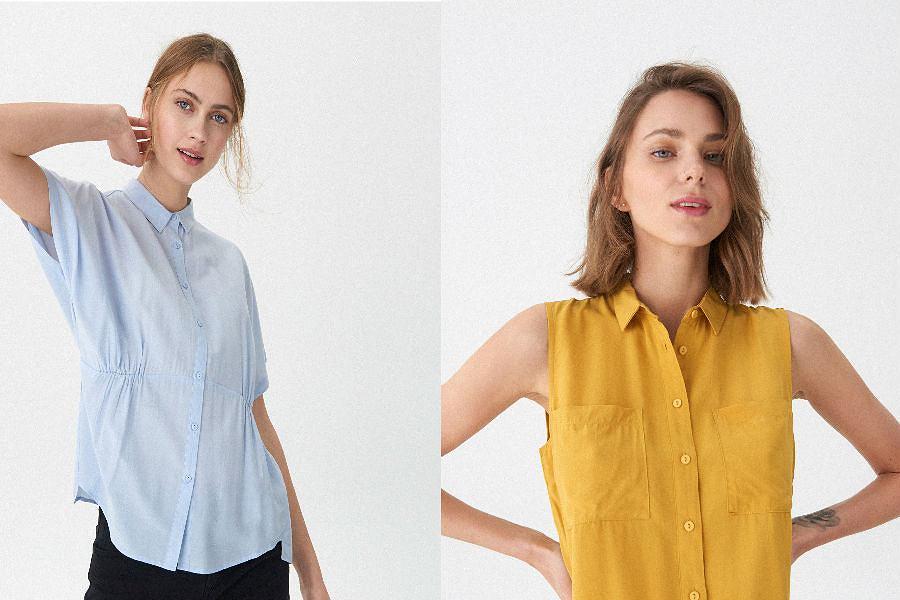 Koszule damskie jednolite