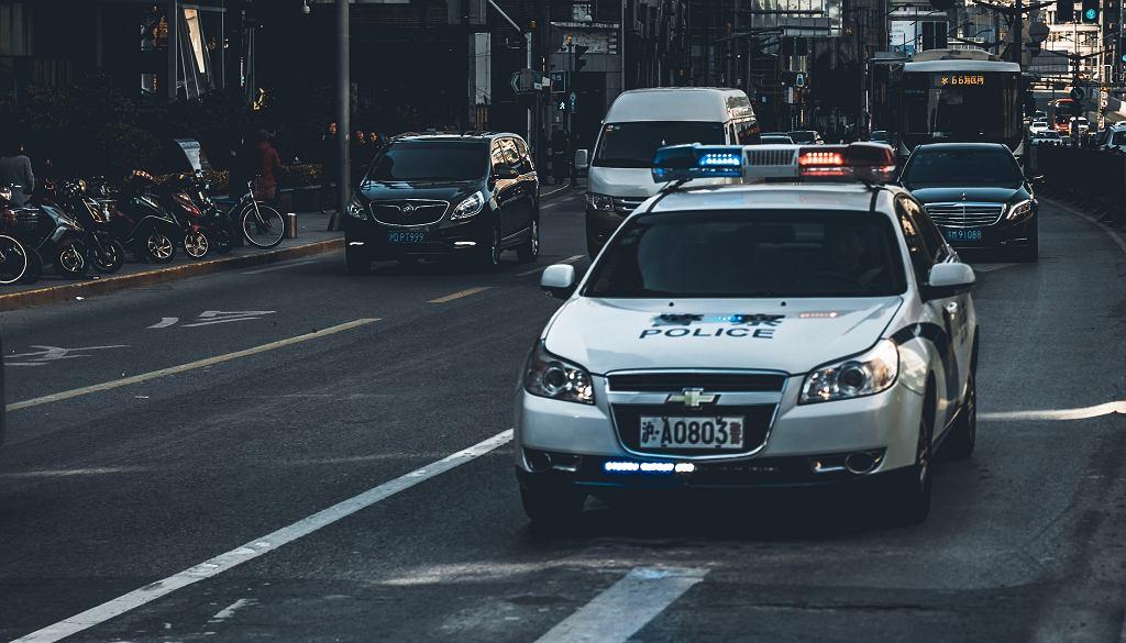 Chiński radiowóz (zdjęcie ilustracyjne)