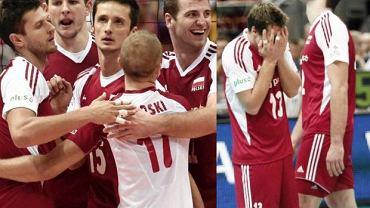 Rozegrany w Ergo Arenie barażowy mecz o awans do ćwierćfinału mistrzostw Europy pomiędzy Polską i Bułgarią dostarczył niesamowitych emocji. Polscy siatkarze i kibice przebyli drogę z siatkarskiego nieba do piekła. Wielka euforia po dwóch wygranych setach zamieniła się w jeszcze większą rozpacz na koniec przegranego 2:3 meczu. Jak ta emocjonalna huśtawka wyglądała na zdjęciach...