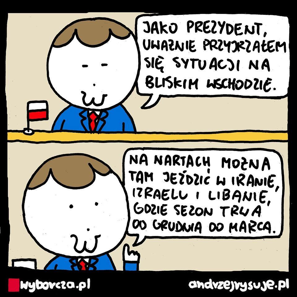 Andrzej Rysuje | Bliski Wschód - Andrzej Rysuje | Bliski Wschód - null
