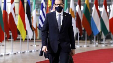 24.05.2021, Bruksela, Mateusz Morawiecki na szczycie Unii Europejskiej.