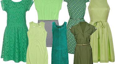 Zielone sukienki - ponad 30 propozycji