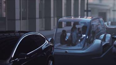 Elektryczny 'wózek' Elona Muska