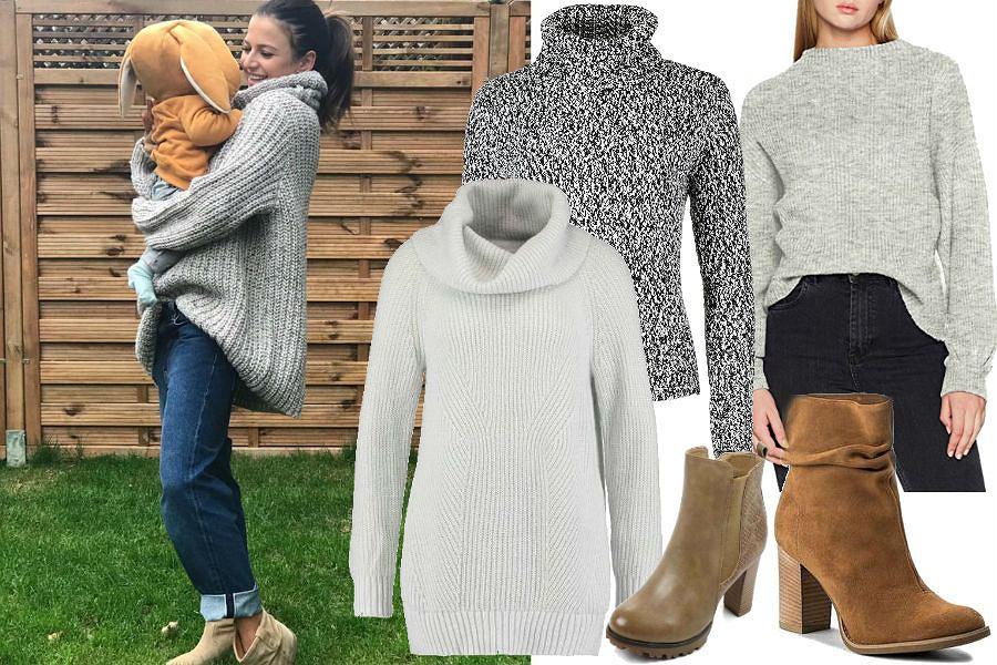 modne swetry z golfem