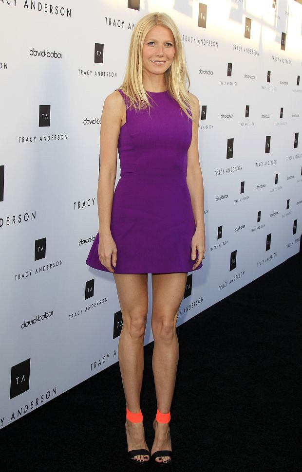 Pictured: Gwyneth Paltrow<br> Mandatory Credit ?? Frederick Taylor/Broadimage<br> Tracy Anderson Flagship Studio Opening<br> <P> 4/4/13, Brentwood, California, United States of America<br> <P> <B>Broadimage Newswire</B><br> Los Angeles 1+ (310) 301-1027<br> New York 1+ (646) 827-9134<br> sales@broadimage.com<br> http://www.broadimage.com<br>