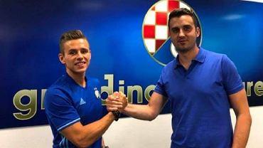 Damian Kądzior zawodnikiem Dinama Zagrzeb