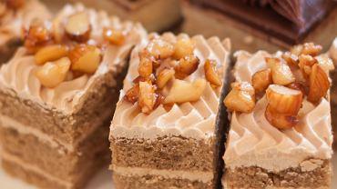 Ciasto cappucino. Zdjęcie ilustracyjne