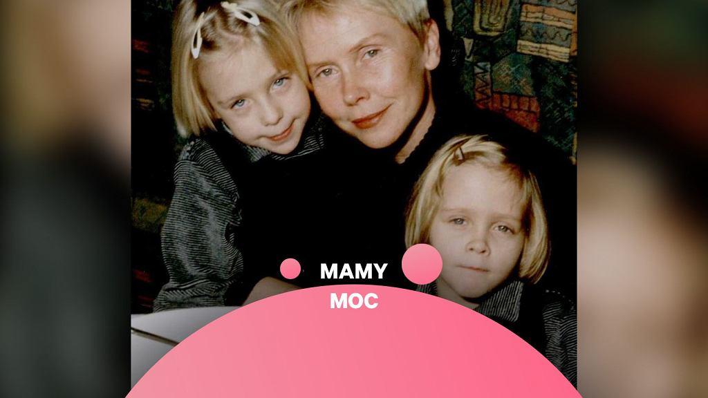 Aktora, Ewa Błaszczyk z córkami