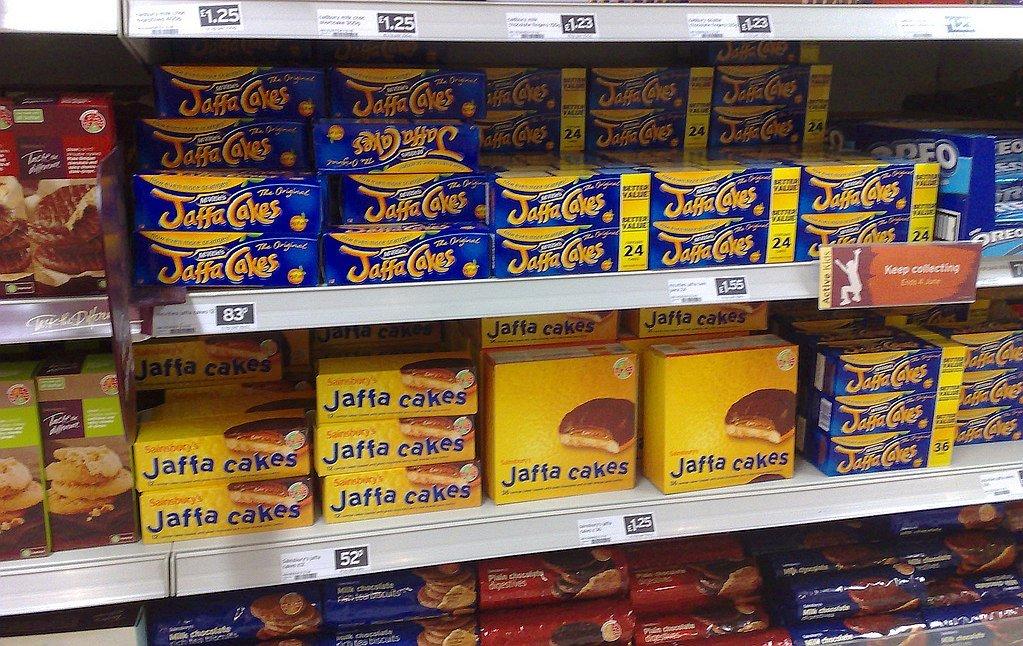 Dziś półki są pełne jaffa cakes  (fot. flickr / Frankie Roberto / CC BY 2.0)